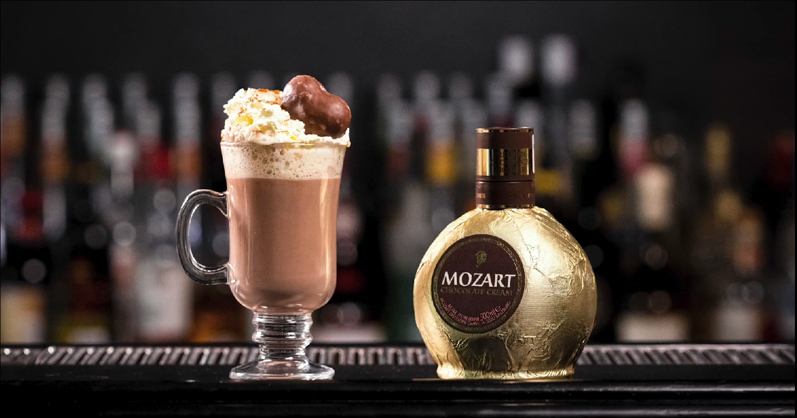 Mozart Gingerbread Hot Chocolate